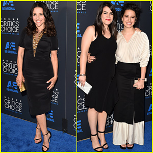 Julia Louis Dreyfus & the 'Broad City' Stars Hit the Critics' Choice Television Awards 2015