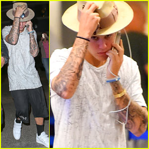 Justin Bieber Flies Home for Pal Floyd Mayweather's Big Fight