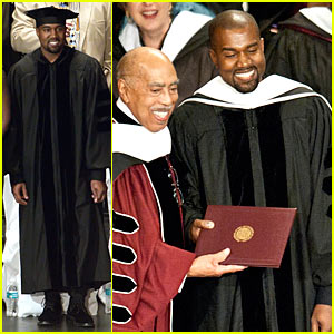 Kanye West Receives Honorary Doctorate - Listen to His Acceptance Speech at SAIC!