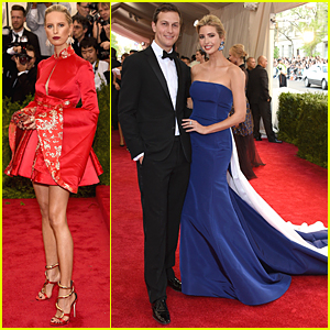 Karolina Kurkova & Ivanka Trump Are Beautiful Blondes at Met Gala 2015