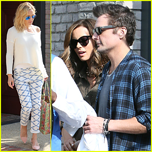 Kate Hudson & Kate Beckinsale Spend Memorial Day at Joel Silver's Beach House