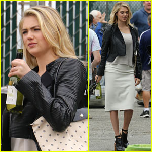 Kate Upton Day Drinks On the Job