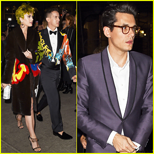 Katy Perry Switches Into Blonde Wig & Meets Up with John Mayer at Met Gala 2015 After Party!