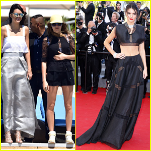 Kendall Jenner & Cara Delevingne Hang Out Together at Cannes