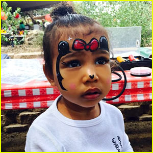 Kim Kardashian's Daughter North is the Cutest Minnie Mouse!