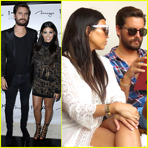 Kourtney Kardashian Joins Scott Disick for Birthday Celebration in Las Vegas