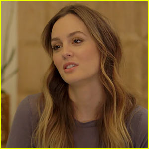 Leighton Meester Gets Some 'Sound Advice' From Vanessa Bayer