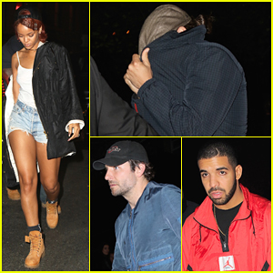 Leonardo DiCaprio Joins Rihanna & Bradley Cooper at Drake's Private Party!