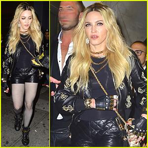 Madonna Makes Fierce Entrance at Rihanna's Met Gala After Party 2015