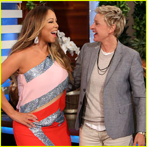 Mariah Carey Surprises 'Ellen' Audience for 'Infinity' Promo!