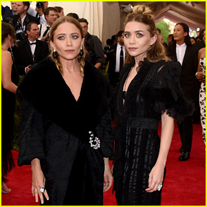 Mary-Kate & Ashley Olsen Wear Dramatic Black Dresses at Met Gala 2015