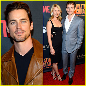 Matt Bomer & Claire Danes Get Ready for the Mayweather Vs. Pacquiao Fight