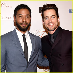 Matt Bomer & Jussie Smollett Rock Scruff at a Charity Event!