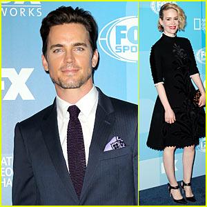 Matt Bomer & Sarah Paulson Bring 'American Horror Story' to Fox Upfronts