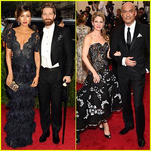 Matthew Morrison & Kelli O'Hara Bring Broadway to Met Gala 2015!