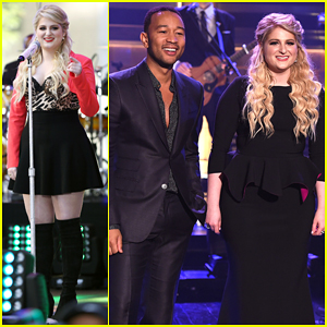 Meghan Trainor & John Legend Perform Duet 'Like I'm Gonna Lose You' on 'The Tonight Show' - Watch Here!