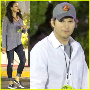 Ashton Kutcher & Mila Kunis Make It a Date Night at the U2 Concert