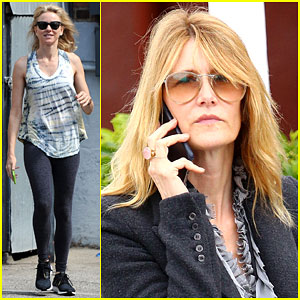 Naomi Watts & Laura Dern Have Some BFF Time at Yoga