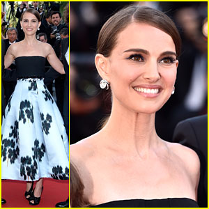 Natalie Portman is All Smiles at 'A Tale of Love and Darkness' Cannes Premiere