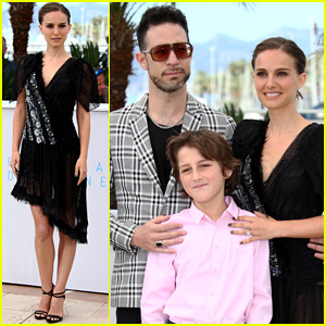 Natalie Portman Hits Up 'Tale Of Love And Darkness' Photo Call