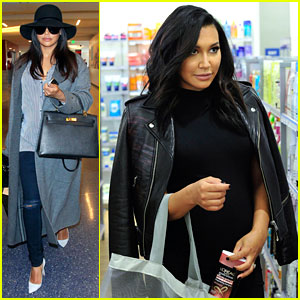 Naya Rivera Picks Up New Beauty Products Before 'Devious Maids' Filming