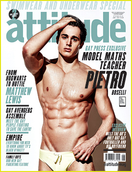 Pietro Boselli Shows Off His Insane Body for 'Attitude' Cover