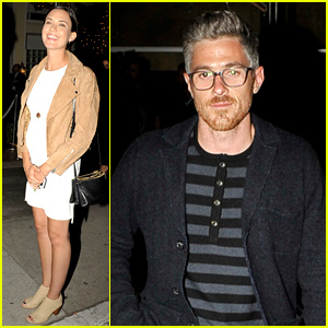 Pregnant Odette Annable Styles Her Baby Bump for Friend's Birthday Party
