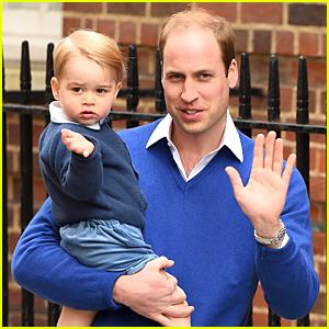 Prince George Meets His Baby Sister For the First Time!