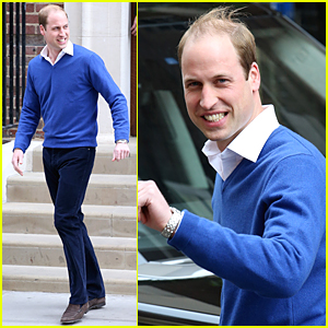 Prince William Makes Statement After Baby Daughter's Birth