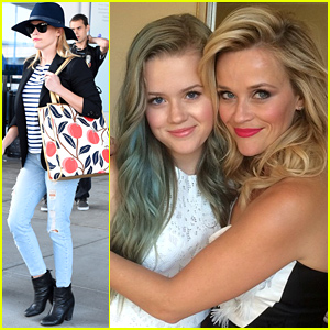 Reese Witherspoon & Her Daughter Ava Look So Much Alike!