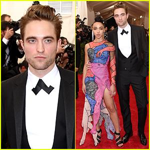 Robert Pattinson & FKA twigs Make Red Carpet Debut at Met Gala 2015