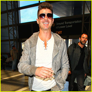 Robin Thicke Loves This Fan's Cover of His Song! (Video)