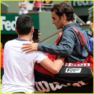 Roger Federer Is 'Not Happy' After Fan Rushes the Court