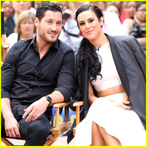 Rumer Willis & Val Chmerkovskiy Celebrate DWTS Win on 'Good Morning America'
