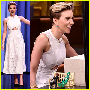 Scarlett Johansson Plays 'Box of Lies' on 'Fallon' (Video)