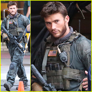 Scott Eastwood Seen in Costume for 1st Time on 'Suicide Squad' Set!