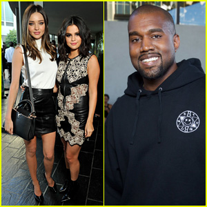 Selena Gomez & Miranda Kerr Pair Up for Louis Vuitton Show