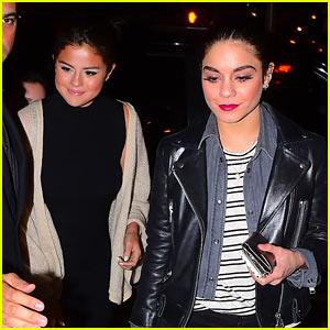 Selena Gomez & Vanessa Hudgens Reunite at Gigi on Broadway!