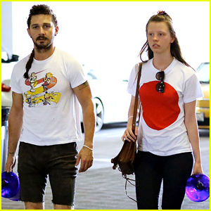 Shia LaBeouf Is Still Rocking His Long Rattail!