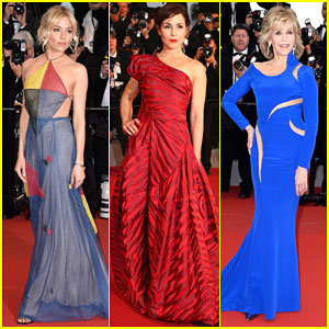 Sienna Miller & Noomi Rapace Stun at 'The Sea of Trees' Premiere