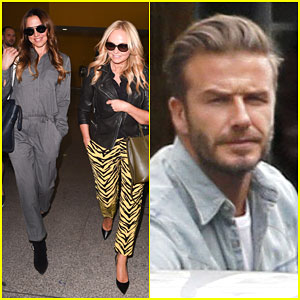 Spice Girls Emma Bunton & Melanie Chisholm Reunite For David Beckham's Birthday