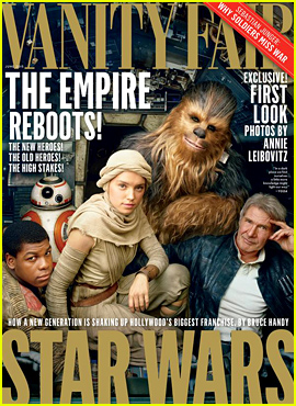 Harrison Ford & 'Star Wars' Cast Cover 'Vanity Fair' Together!