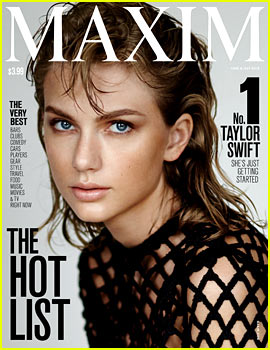 Taylor Swift Tops the 'Maxim' Hot List for 2015!