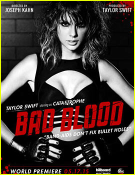 Taylor Swift's 'Bad Blood' Video - See Every Celeb Poster!