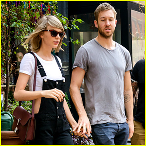 Taylor Swift & Calvin Harris Show Their Affection at Lunch