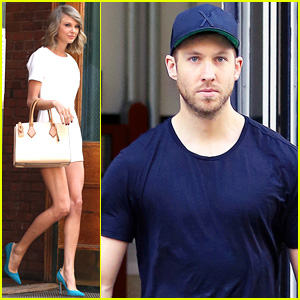 Taylor Swift & Calvin Harris Continue Roman