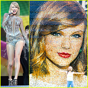 Taylor Swift's Lego Portrait Looks Just Like Her! (Photo)