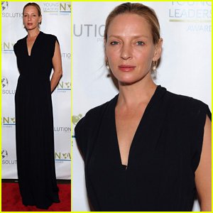 Uma Thurman Attends Young Leaders Now Award Dinner
