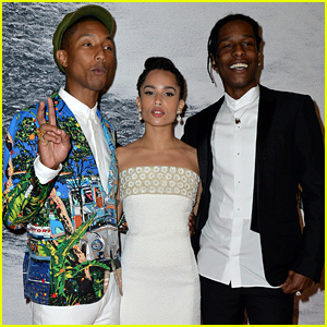 Zoe Kravitz & Pharrell Williams Premiere 'Dope' at Cannes 2015!