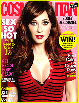 Zooey Deschanel Doesn't Buy Into the 'Skinny-is-Better' Mentality